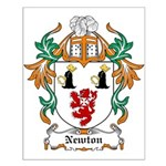 Newton Coat of Arms Small Poster
