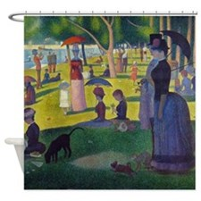 Seurat La Grande Jatte Shower Curtain