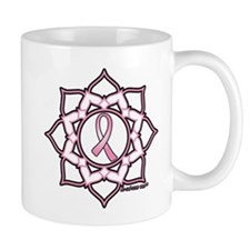 Lotus Breast Cancer Mug