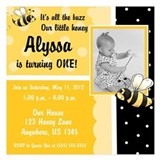 Bumble bee Invitations & Announcements