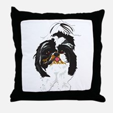 Just Peanut 1.png Throw Pillow