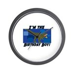 BIRTHDAY-BOY-Tee-1.png Wall Clock