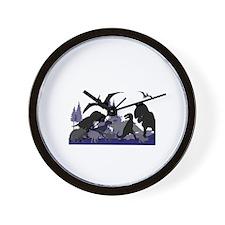 DINOSAUR-MEDLEY.png Wall Clock