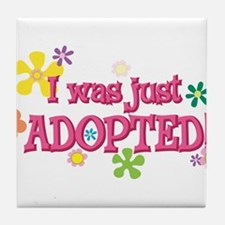 JUSTADOPTED44.png Tile Coaster