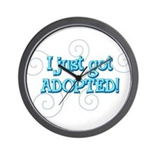JUSTADOPTED22.png Wall Clock