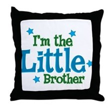 Im the Little Brother.png Throw Pillow
