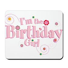 Birthday girl 3.png Mousepad