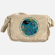 LUVROCEANS.png Messenger Bag