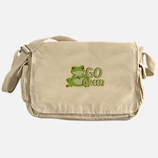 GOGREEN1.png Messenger Bag