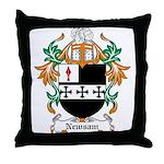 Newsam Coat of Arms Throw Pillow