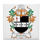 Newsam Coat of Arms Tile Coaster
