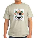 Newsam Coat of Arms Ash Grey T-Shirt