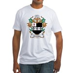 Newsam Coat of Arms Fitted T-Shirt