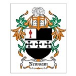 Newsam Coat of Arms Small Poster