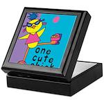 One Cute Chick.png Keepsake Box