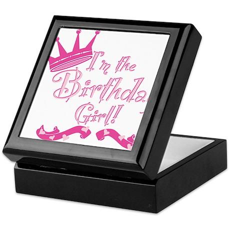 Birthday Girl.png Keepsake Box