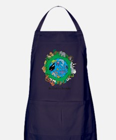 Be Kind To Animals.png Apron (dark)