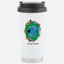 Be Kind To Animals.png Stainless Steel Travel Mug