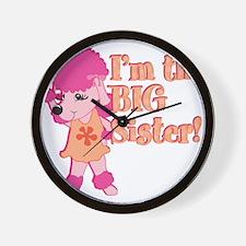 Im the big sister.png Wall Clock