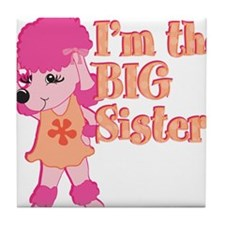 Im the big sister.png Tile Coaster