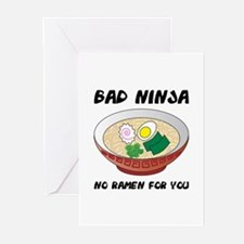 No Ramen For You Greeting Cards (Pk of 10)