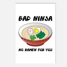 No Ramen For You Postcards (Package of 8)