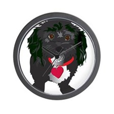BLACKDOG.png Wall Clock