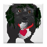 Blackdog.png Drink Coasters