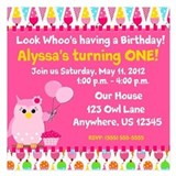 2nd birthday girl Invitations & Announcements