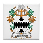 Newcomen Coat of Arms Tile Coaster