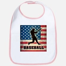 Grunge USA Baseball Bib