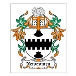 Newcomen Coat of Arms Small Poster