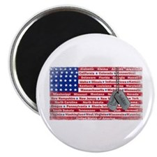 Thank You Soldier Dog Tags Magnet