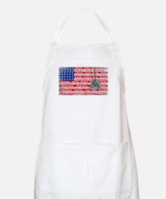 Thank You Soldier Dog Tags Apron