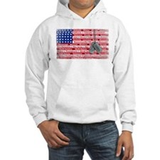 Thank You Soldier Dog Tags Hoodie