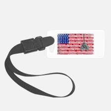 Thank You Soldier Dog Tags Luggage Tag
