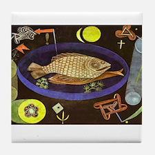 paul klee Tile Coaster