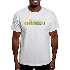 Otaku Circuits Ash Grey T-Shirt