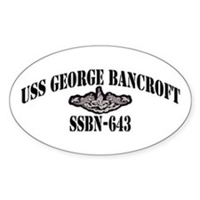 USS GEORGE BANCROFT Stickers