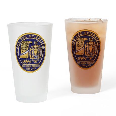 USS GEORGE BANCROFT Drinking Glass