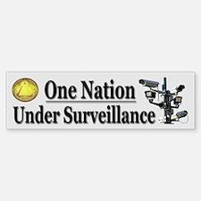 Under Surveillance Bumper Bumper Sticker