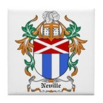 Neville Coat of Arms Tile Coaster