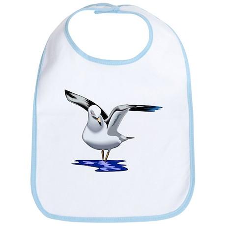 Seagull Liftoff Bib