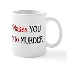 Fur Is Murder Mug
