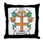Netterville Coat of Arms Throw Pillow