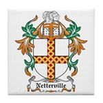 Netterville Coat of Arms Tile Coaster