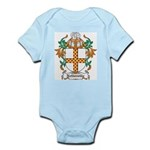 Netterville Coat of Arms Infant Creeper