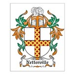 Netterville Coat of Arms Small Poster