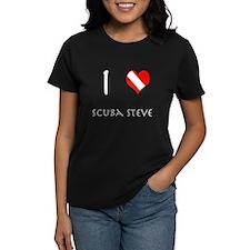 I Love Scuba Steve (white) Tee