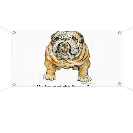 Bulldog Boss Banner